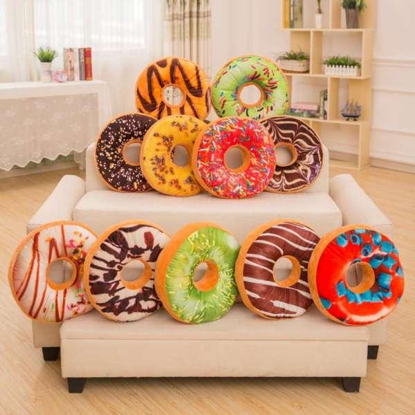 Donut-Kissen